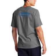 Champion Men's Classic Script Oval Logo Short-Sleeve T-Shirt