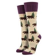 Socksmith Design Women's Outlands Bear Boot Sock