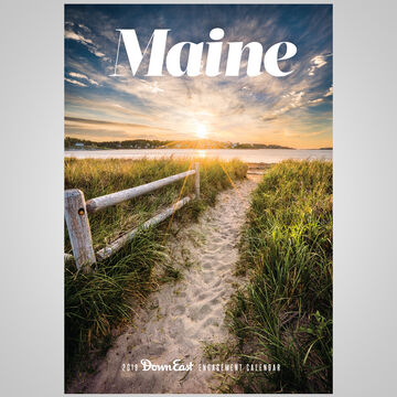 Maine: 2019 Down East Engagement Calendar by Editors of Down