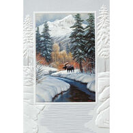 Pumpernickel Press Winter Blanket Deluxe Boxed Greeting Cards