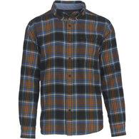 Woolrich Men's Big & Tall Trout Run Flannel Long-Sleeve Shirt