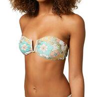 O'Neill Women's Gold Coast Wildflower Bandeau Bikini Top