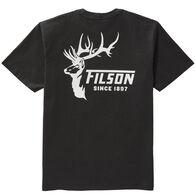 Filson Men's Outfitter Deer Graphic Short-Sleeve T-Shirt