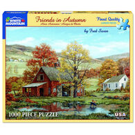 White Mountain Jigsaw Puzzle - Friends in Autumn