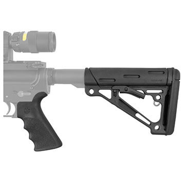 Hogue AR-15 / M-16 2-Piece Grip and Collapsible Buttstock Kit
