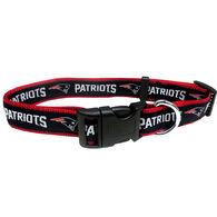 Pets First New England Patriots Dog Collar