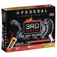 "Federal Premium 3rd Degree w/ Heavyweight TSS 20 GA 3"" 1-1/2 oz. #5, 6, 7 Shotshell Ammo (5)"