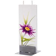 Flatyz Candle - Purple Flower