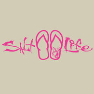 Salt Life Signature Sandal Decal - Pink