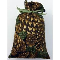 Moosehead Balsam Fir Black Pine Cone Bag