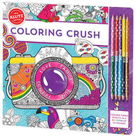 Klutz Coloring Crush Book Kit by The Editors of Klutz