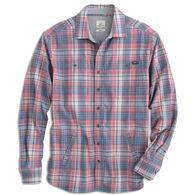 johnnie-O Men's Norman Flannel Long-Sleeve Shirt Jacket
