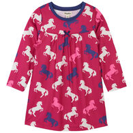 Hatley Girl's Playful Horses Nightdress