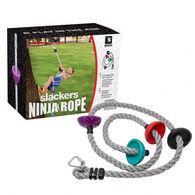 Slackers Ninja 8' Climbing Rope w/ Foot Holds