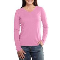 Carhartt Women's Calumet V-Neck Long-Sleeve Shirt