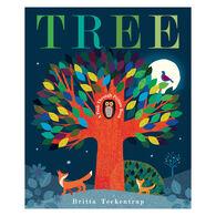 Tree: A Peek-Through Picture Book by Britta Teckentrup