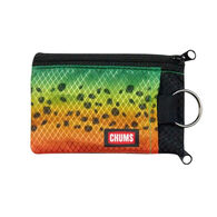Chums Surfshorts Fish Pattern Wallet