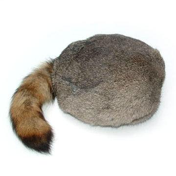 Surell Mens Raccoon Hat