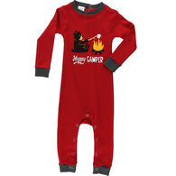 Lazy One Infant Boy's Happy Camper Unionsuit