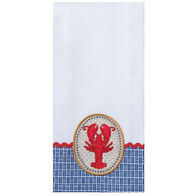 Kay Dee Designs Fresh Catch Lobster Embroidered Tea Towel