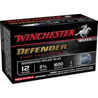 """Winchester PDX1 Defender 12 GA 2.75"""" 1 oz. Segmented Rifled Slug Ammo (10)"""