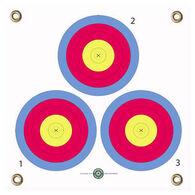Arrowmat 3-Spot Archery Target Face