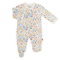 Magnetic Me Infant Girl's Starburst Modal Magnetic Footie Pajama