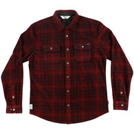 O'Neill Men's X Woolrich Glacier Plaid Long-Sleeve Shirt