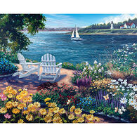 White Mountain Jigsaw Puzzle - Garden By The Bay