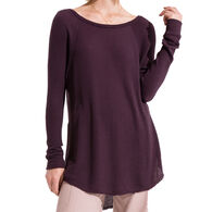 Z Supply Women's Breezy Rib Long-Sleeve Tee Shirt