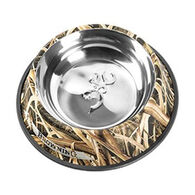 Browning Camo Stainless Steel Pet Dish