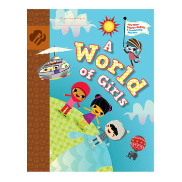 Girl Scouts Brownie A World Of Girls Journey Book