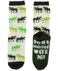 Lazy One Youth Don't Moose With Me Sock