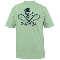 Salt Life Men's Skull & Hooks Pocket Short-Sleeve T-Shirt