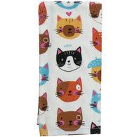 Kay Dee Designs Crazy Cat Terry Towel