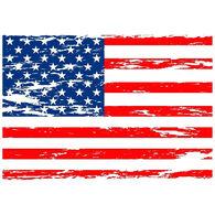 Sticker Cabana American Flag Sticker