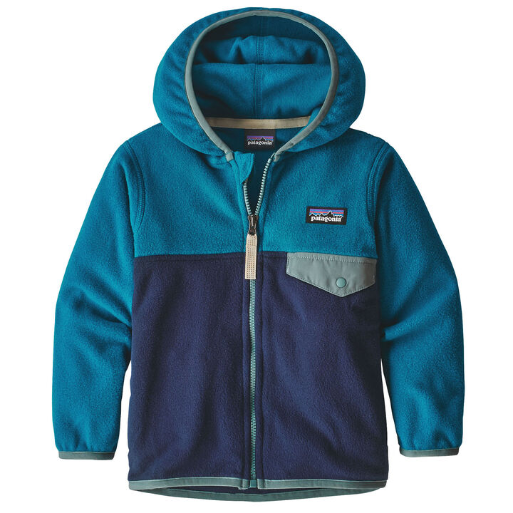 Patagonia Infant Toddler Baby Micro D Snap T Jacket