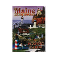 Maine Scene Lighthouses of Maine Playing Cards