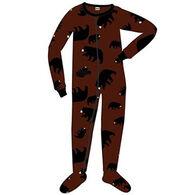 Lazy One Toddler Boys' Timberland Bear Footeez Pajama