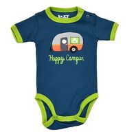 Lazy One Infant Boys' & Girls' Happy Camper Night Out Creeper