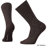 SmartWool Men's Heavy Heathered Rib Crew Sock