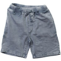 Wes And Willy Boy's Faded Wash Fleece Short