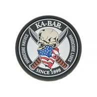 KA-BAR Skull Morale Patch