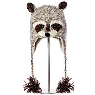 Knitwits Boys' & Girls' Robby The Racoon Animal Hat