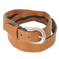 Thomas Bates Men's Leather Travel Belt