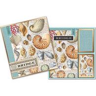 Michel Design Works Shells Bridge Card Set