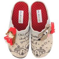 Spring Footwear Women's Lil Red Wool Slipper