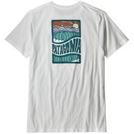 Patagonia Men's Cosmic Peaks Organic Cotton Short-Sleeve T-Shirt