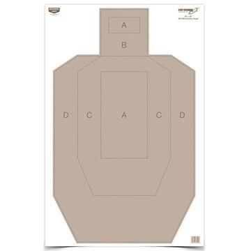 Birchwood Casey Eze-Scorer IPSC Practice Paper Target - 5 Pk.