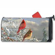 MailWraps Winter Cardinal Mailbox Cover